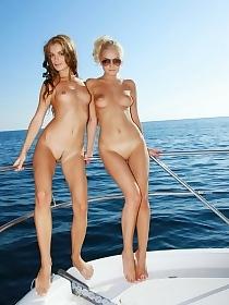 Nude Teen  Boattrip